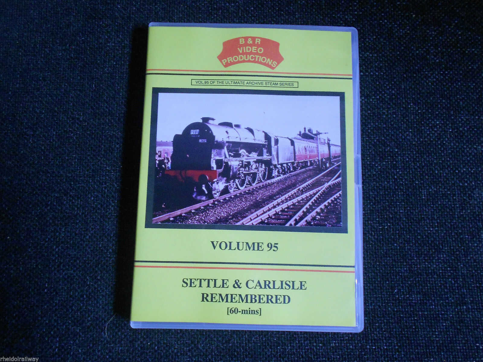Keighley, Hellifield, Dent, Settle & Carlisle Remembered Part 1, B&R Vol 95 DVD - The Vale of Rheidol Railway