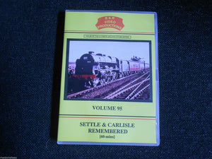Keighley, Hellifield, Dent, Settle & Carlisle Remembered Part 1, B&R Vol 95 DVD