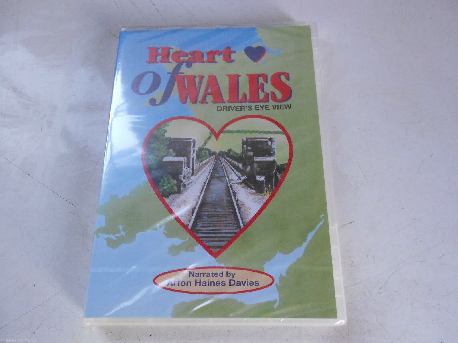 Shrewsbury, Heart Of Wales Driver's Eye View, Narrated by Arfon Haines Davies DVD