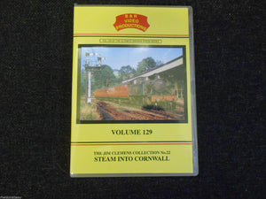 Saltash, Liskeard, Truro, Par, Penzance, Steam Into Cornwall, B&R Vol 129 DVD