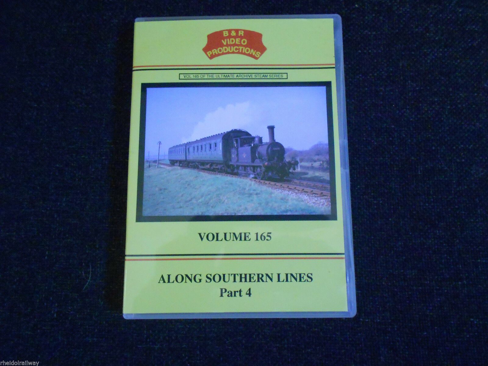 Portsmouth, Eastleigh Shed, Along Southern Lines Part 4, B & R Volume 165 DVD - The Vale of Rheidol Railway
