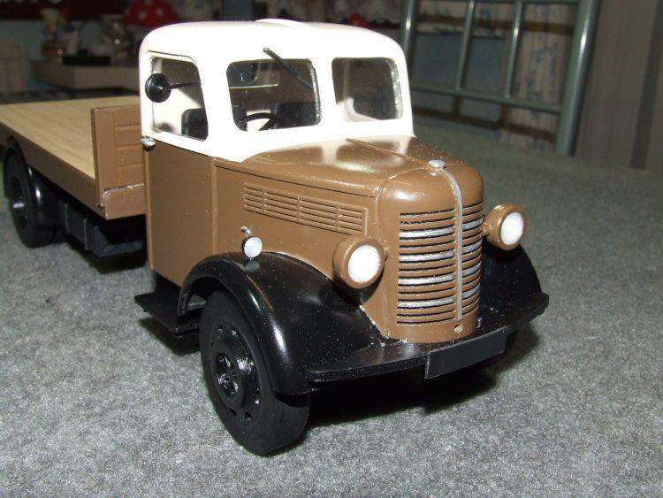 BEDFORD 'O' SERIES LWB FLATBED LORRY – 16mm scale pdf models - The Vale of Rheidol Railway