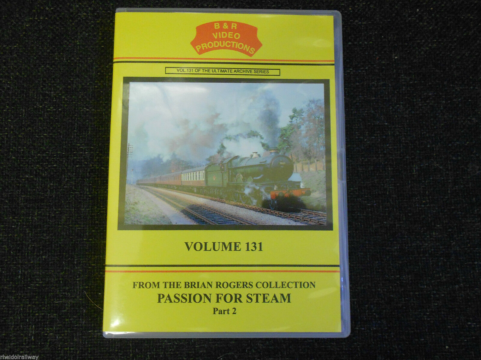 Lickey, S&D, Wight, Waverley, Snow Hill, Passion For Steam Pt 2 B&R Vol 131 DVD - The Vale of Rheidol Railway