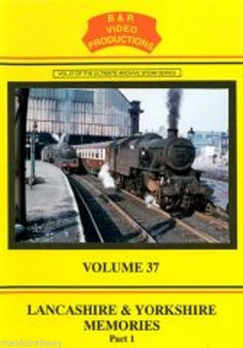 Leeds, Wakefield, Meltham, Lancashire and Yorkshire Memories Pt 1 B&R Vol 37 DVD