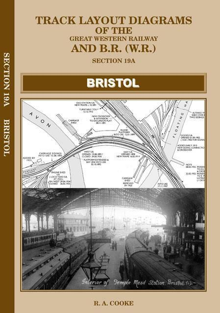 Bristol area railway track plans Mangotsfield Long Ashton Lawrence Field - The Vale of Rheidol Railway
