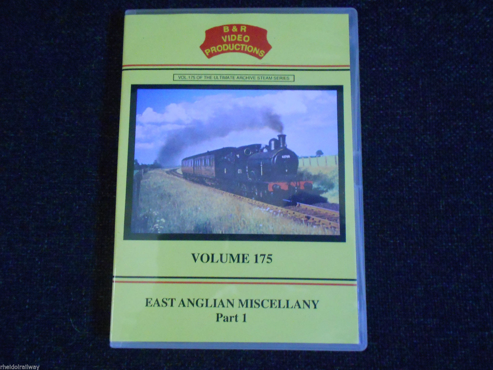 Liverpool St., Norfolk, East Anglian Miscellany, B & R Volume 175 DVD