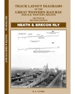 NEATH & BRECON RLY railway track plans Ynisygeinon Jcn to Colbren Jcn - The Vale of Rheidol Railway