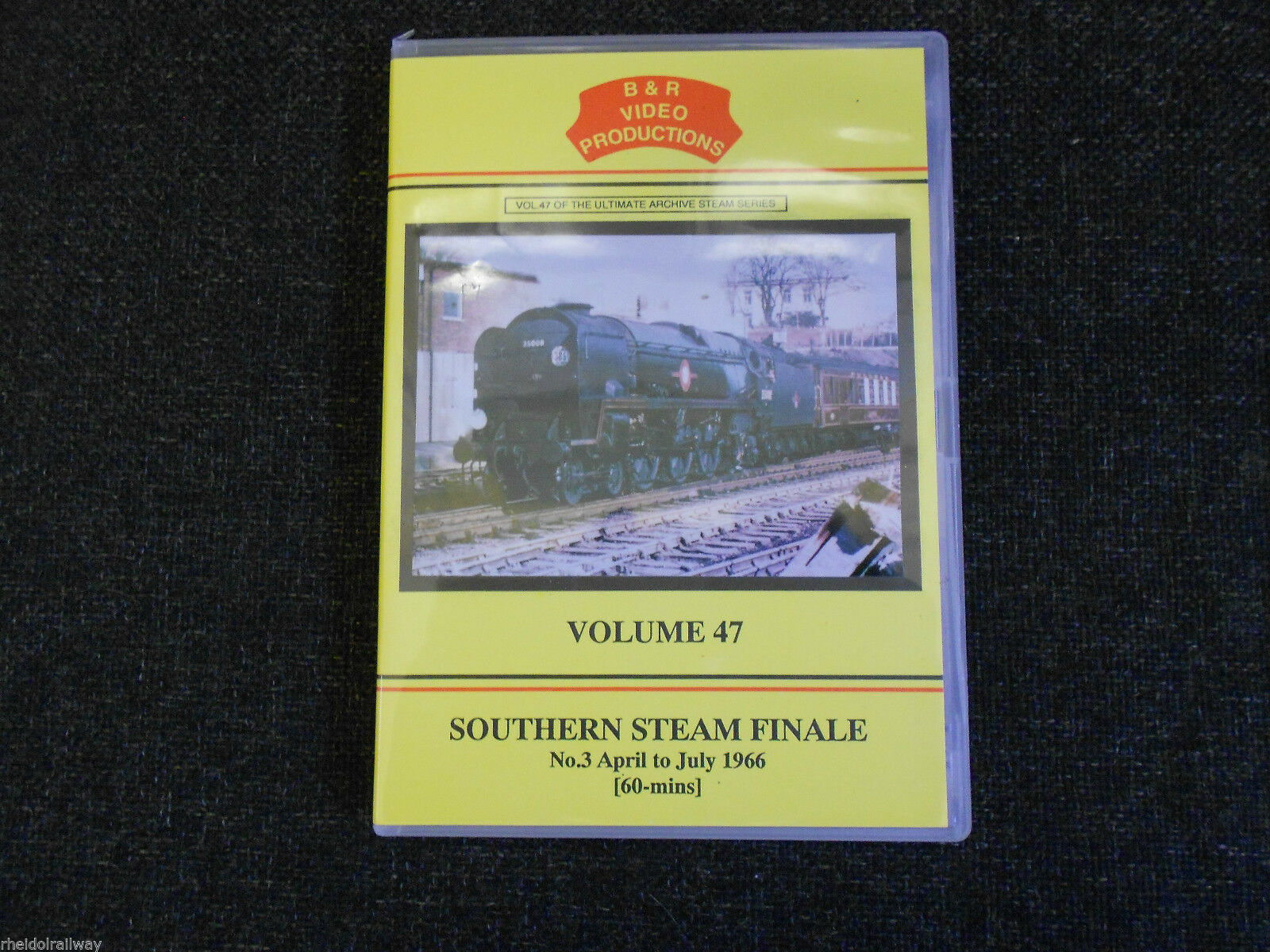 Longmoor, Weymouth, Ventnor, Ryde, Southern Steam Finale Part 3, B&R Vol 47 DVD
