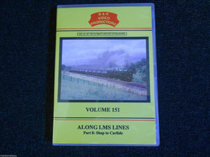 Shap Quarry, Along The LMS Lines Part 8, Shap To Carlisle B&R Vol 151 DVD