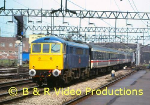B&R DVD 223 Miscellany of Diesel & Electric Power No.5 - The Vale of Rheidol Railway
