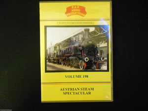 Vienna, Graz, Linz, Kreigslok, Austrian Steam Spectacular B&R Vol 198 DVD - The Vale of Rheidol Railway