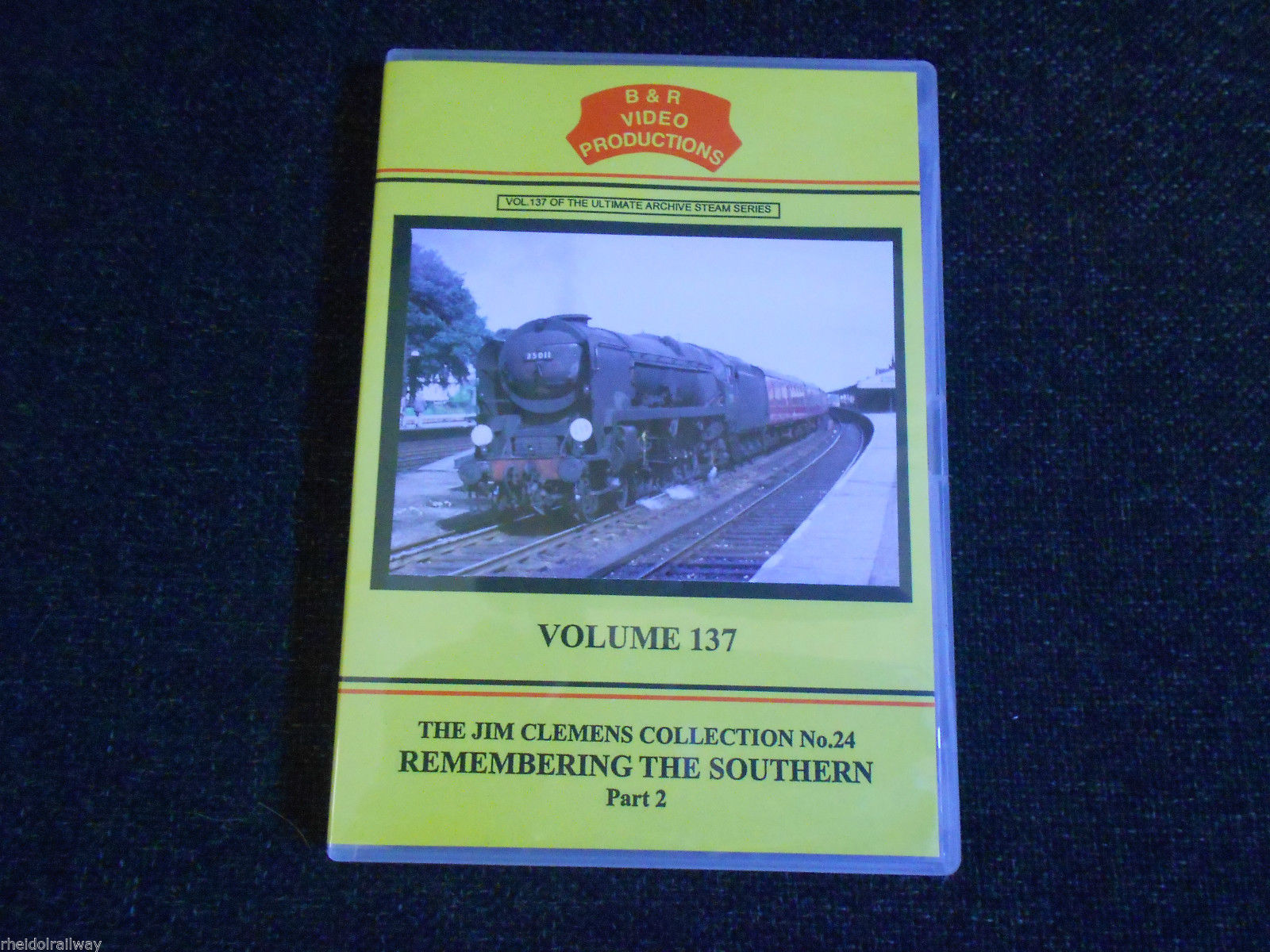 Waterloo, Southampton, Medstead, Remembering the Southern Part 2 B&R Vol 137 DVD - The Vale of Rheidol Railway