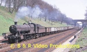 Great Western Steam Miscellany No.4 B&R DVD Lickey Bristol Oxford Hereford 215