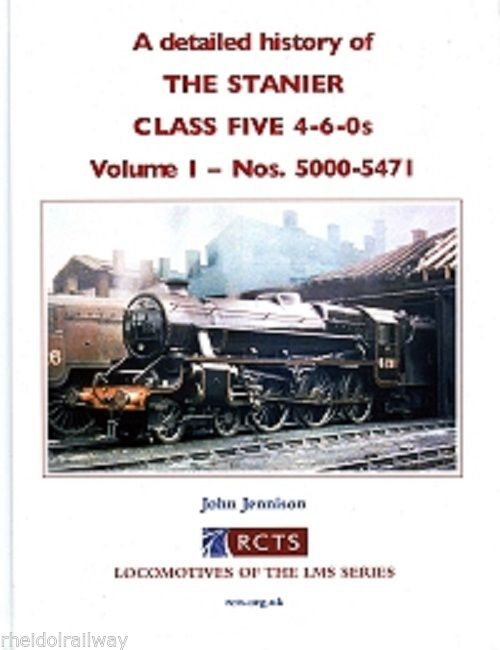 The Stanier Class 5 4-6-0s, History, Volume 1 - Nos 5000-5471 By John Jennison - The Vale of Rheidol Railway