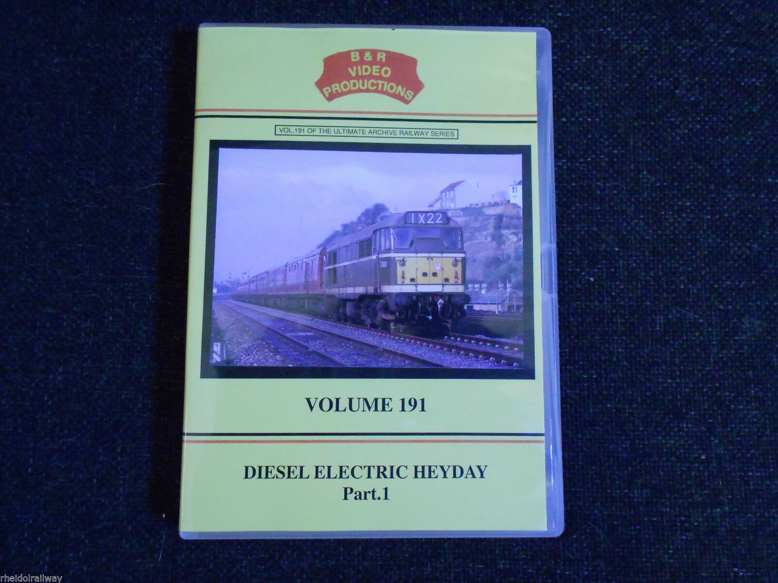 Metrovick, Dunstable Branch, Diesel Electric Heyday Part 1, B & R Volume 191 DVD - The Vale of Rheidol Railway