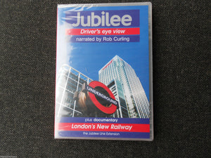 London Underground, Jubilee Driver's Eye View DVD Narrated by Rob Curling