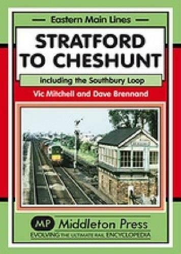 Stratford To Cheshunt, Southbury Loop,Angel Road, Southbury, Eastern Main Lines