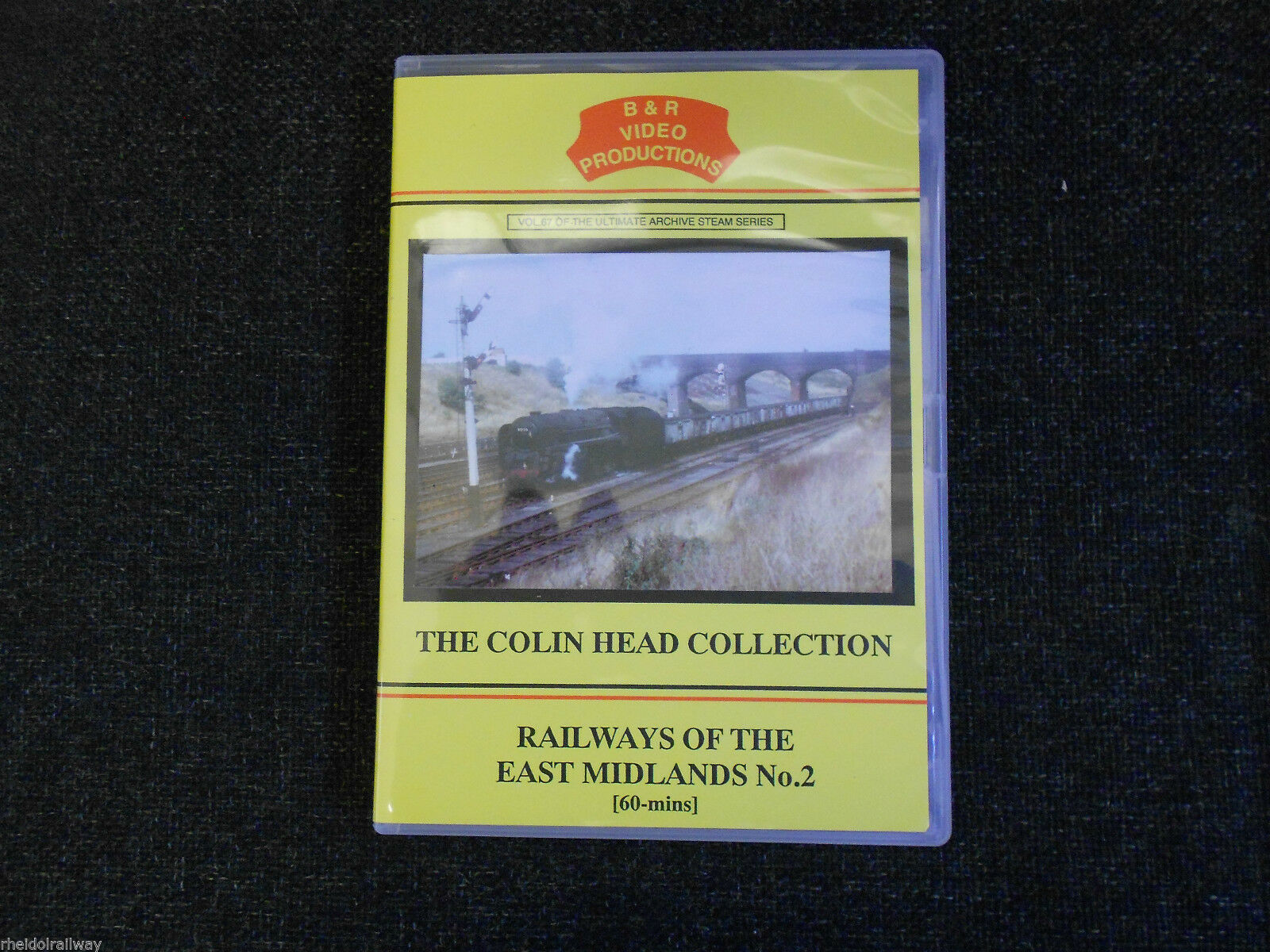 Wellingborough, Kettering, Railways of the East Midlands No.2 B&R Vol 67 DVD - The Vale of Rheidol Railway