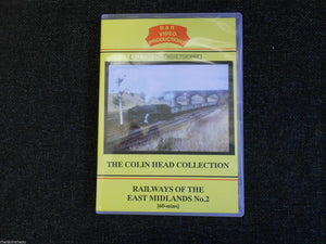 Wellingborough, Kettering, Railways of the East Midlands No.2 B&R Vol 67 DVD