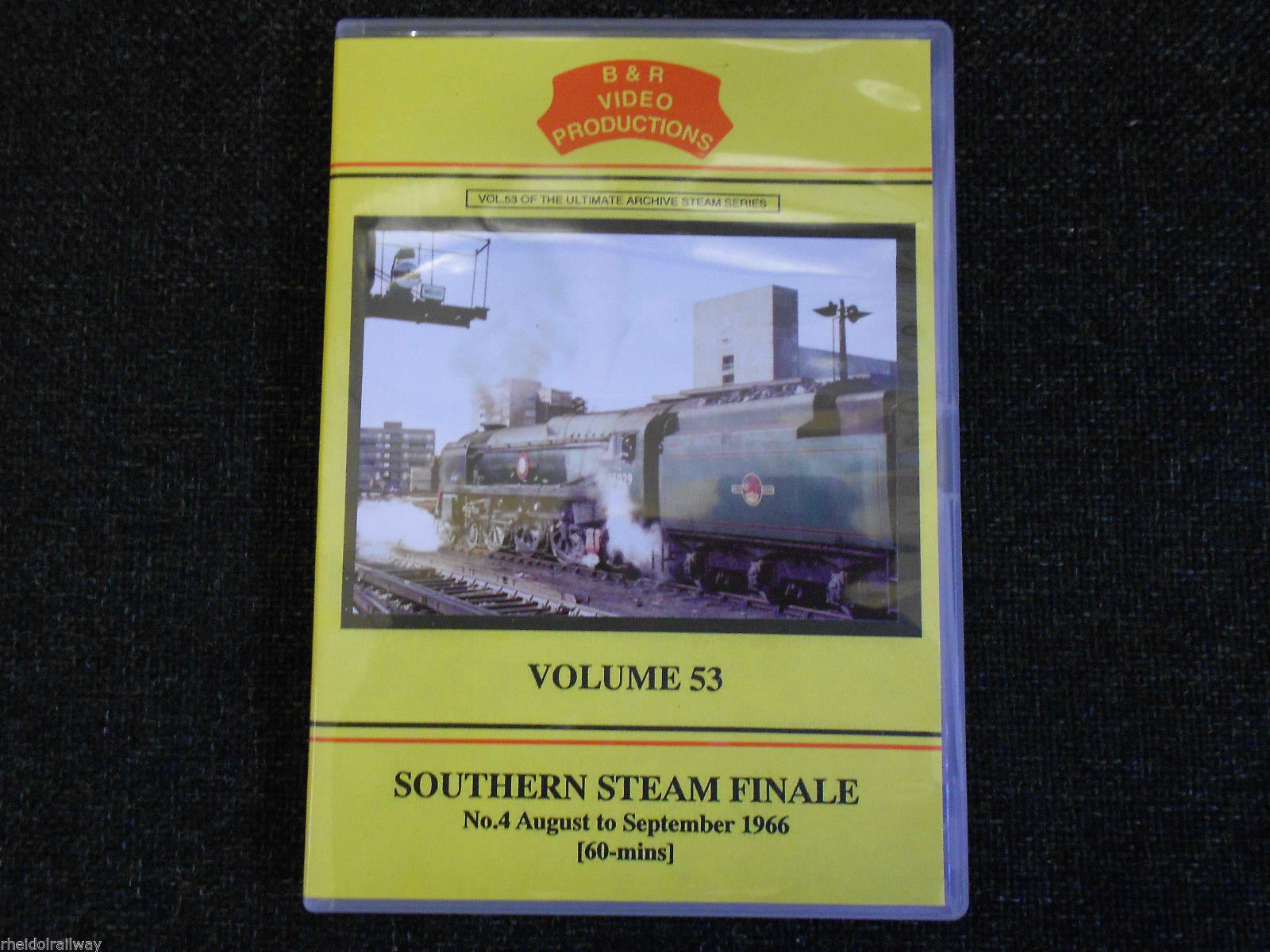 Penistone, Isle of Wight, Swanage, Southern Steam Finale No. 4 B&R Vol 53 DVD - The Vale of Rheidol Railway