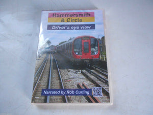 Underground, Hammersmith & Circle, Driver's Eye View, Narrated by Rob Curling DVD