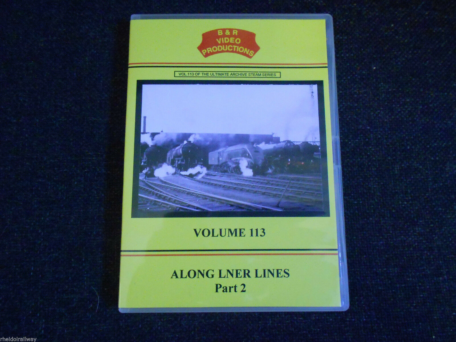 Kings Cross, York, Flying Scotsman, Along LNER Lines Part 2, B&R Vol 113 DVD