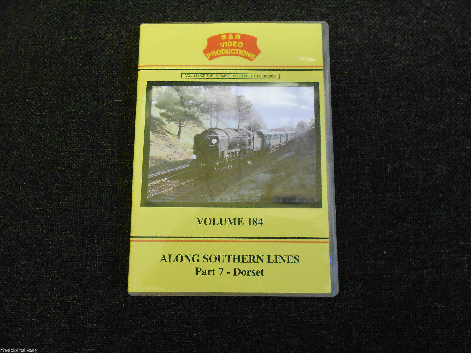 Fawley Branch, Wareham, Along Southern Lines, Part 7 - Dorset, B & R Vol 184 DVD - The Vale of Rheidol Railway