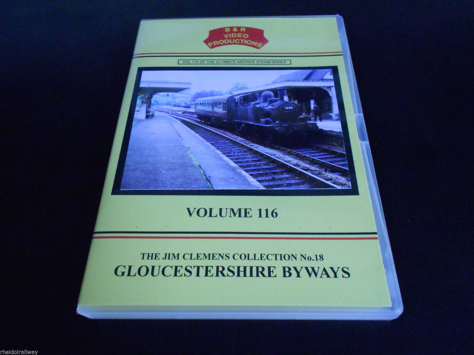 Cheltenham, Kemble, Tetbury, Chalford, Gloucestershire Byways B&R Vol 116 DVD - The Vale of Rheidol Railway