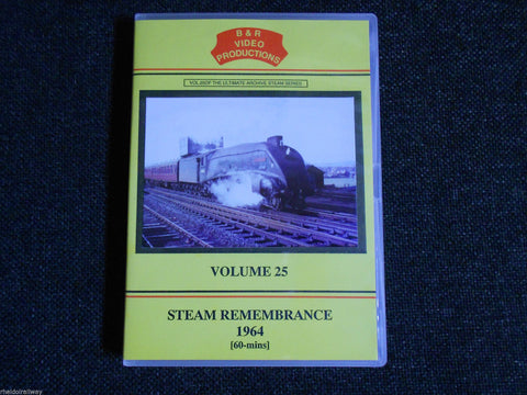 Paddidngton, Exeter, Wadebridge, Steam Rememberance 1963, B & R Volume 25 DVD - The Vale of Rheidol Railway