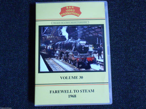 Liverpool, Blackpool, Farewell to Steam 1968, B & R Volume 30 DVD