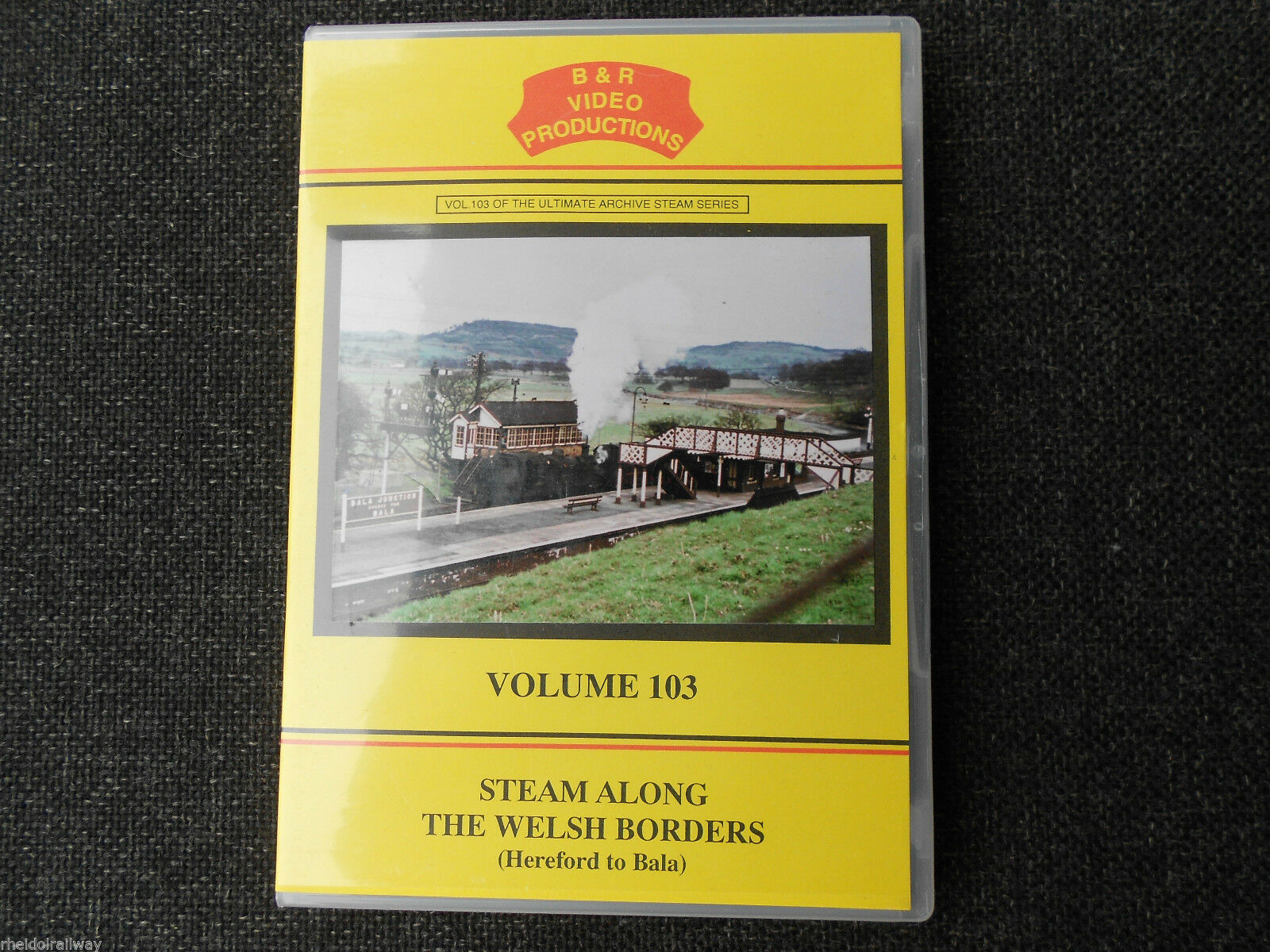 Brecon, Oswestry, Steam Along The Welsh Borders, Hereford to Bala B&R Vol103 DVD - The Vale of Rheidol Railway