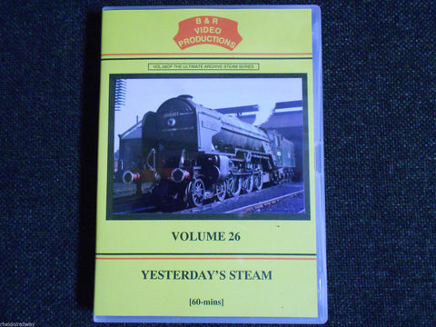 St.Margarets, Dundee, Yesterdays Steam, B & R Volume 26 DVD - The Vale of Rheidol Railway