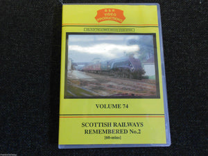 Inverness, Aberdeen, Aberfeldy, Scottish Railways Remembered No.2 B&R Vol 74 DVD
