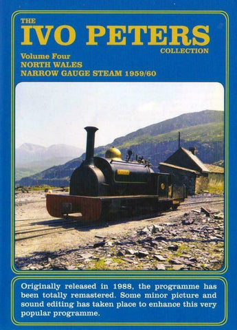 IVO peters North Wales narrow gauge steam 1959-60 DVD - The Vale of Rheidol Railway