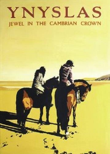 Ynyslas Jewel In The Cambrian Crown Large Poster 42 cm by 30 cm - The Vale of Rheidol Railway