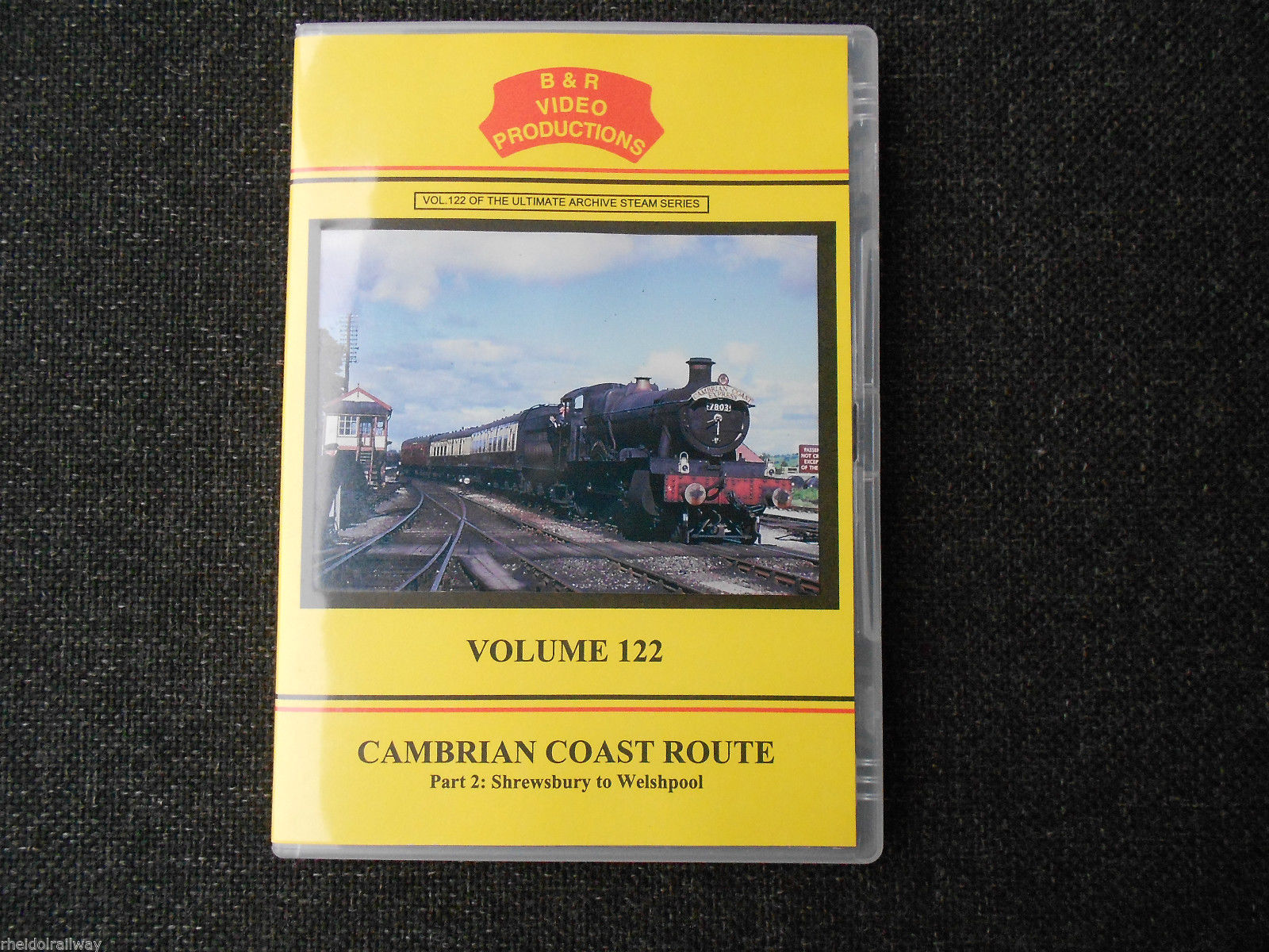 Shrewsbury, Welshpool, Bridgnorth, Cambrian Coast Route Part 2 B&R Vol 122 DVD