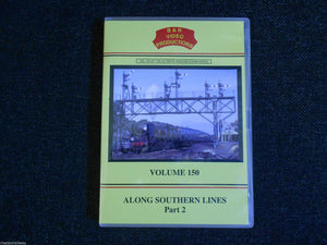 Waterloo, Basingstoke, Clapham, Along Southern Lines Part 2, B&R Vol 150 DVD - The Vale of Rheidol Railway
