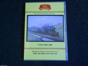 Lostock Hall, Bolton, Carnforth, Tyseley, The Demise Of Steam, B&R Vol 148 DVD