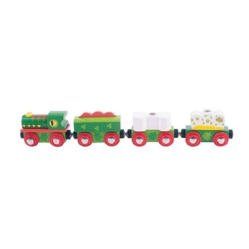 Bigjigs Dinosaur train wooden fits Brio
