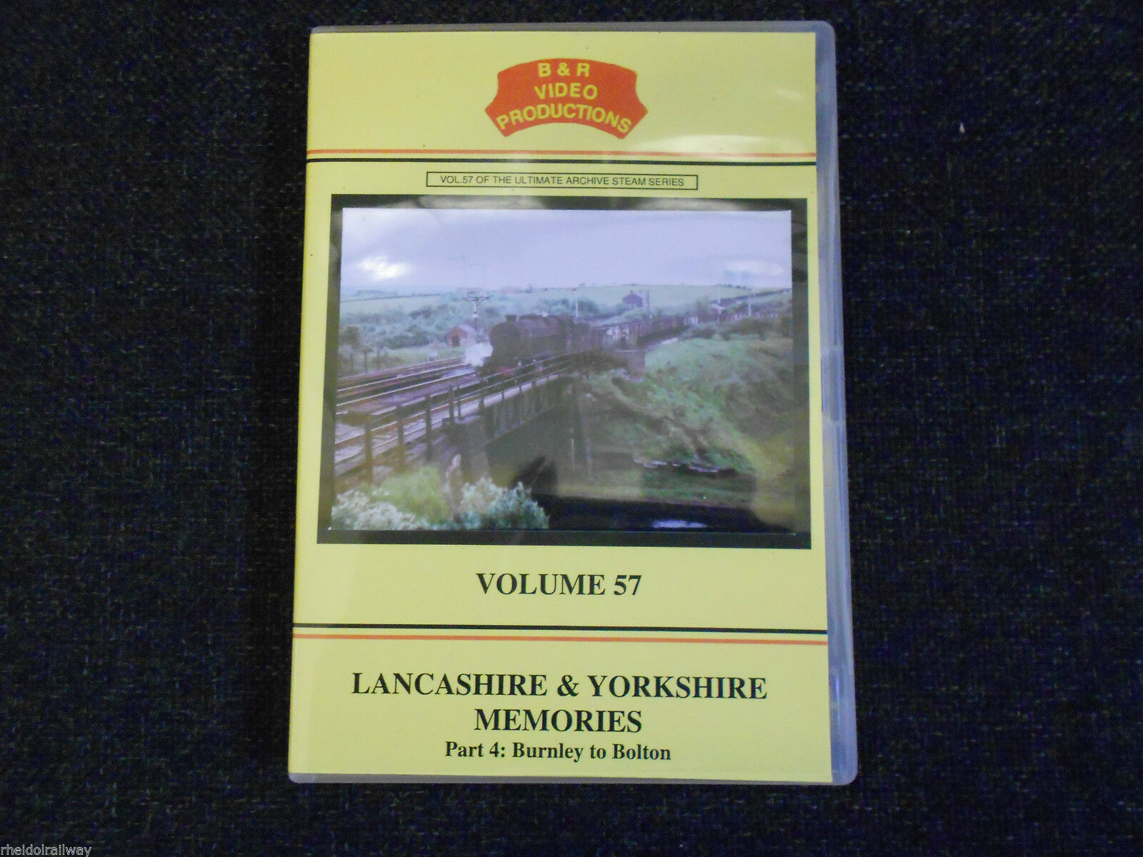 Burnley, Bolton, Chorley, Lancashire & Yorkshire Memories Part 4 B&R Vol 57 DVD - The Vale of Rheidol Railway