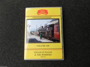 Shrewsbury, Hereford, Aberayron, Steam in Wales & Borders Vol.160 DVD B&R