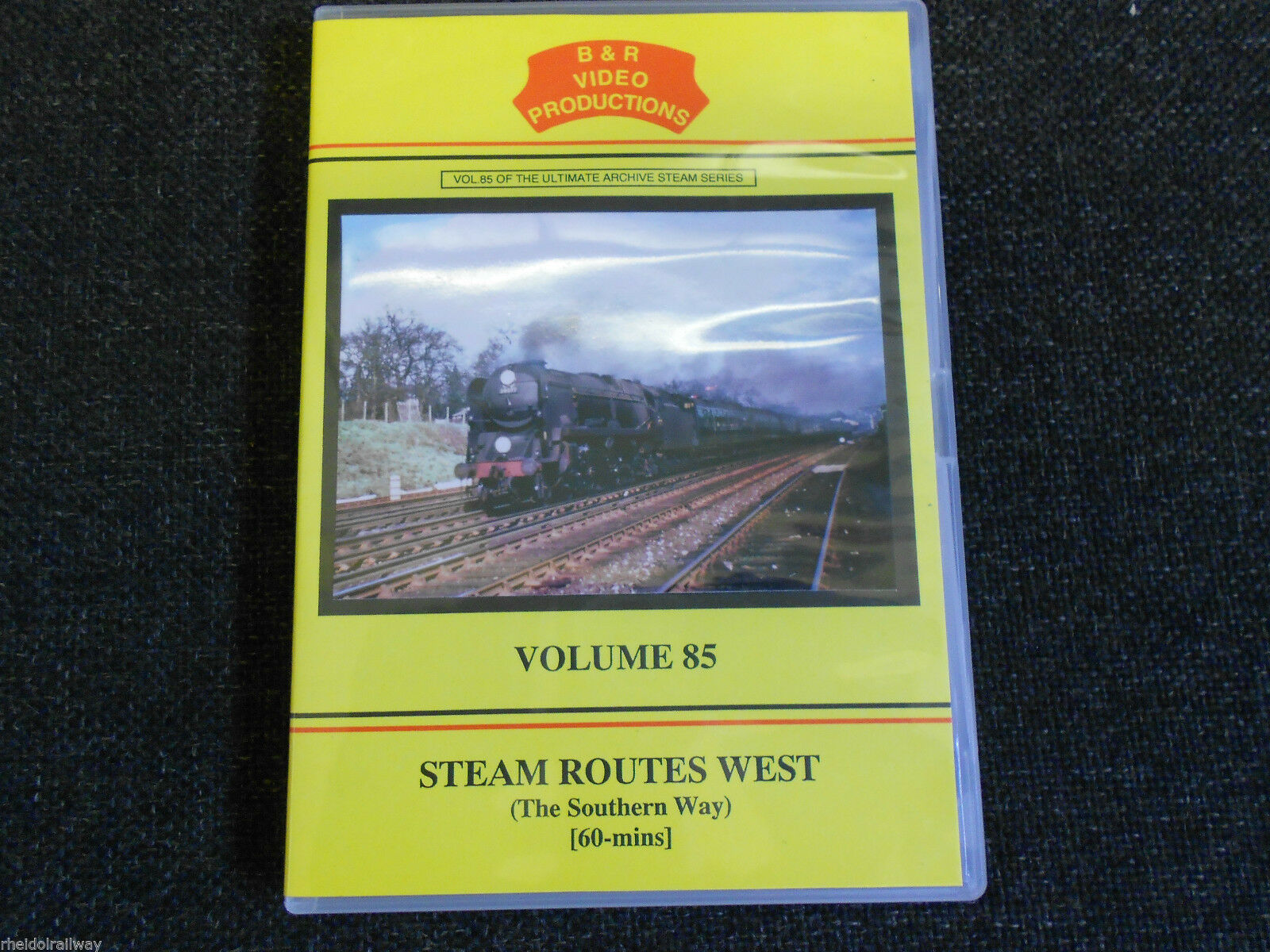 Ludgershall, Sidmouth, Wadebridge, Barnstaple, Steam Routes West B&R Vol 85 DVD