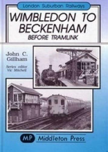 Wimbledon To Beckenham, Before Tramlink, Mitcham Junction, Suburban Railways