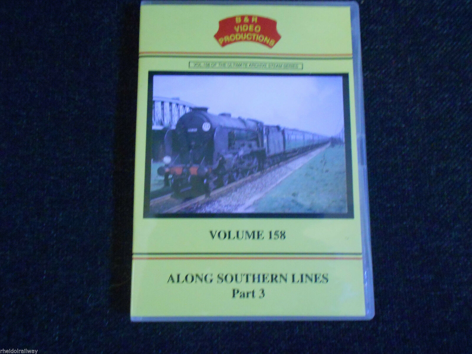 Basingstoke,Isle Of Wight, Along Southern Lines Part 3, B & R Volume 158 DVD - The Vale of Rheidol Railway