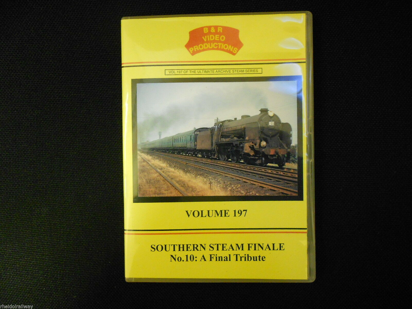 Waterloo, Wight, Southern Steam Finale No.10 A Final Tribute B&R Vol 197 DVD