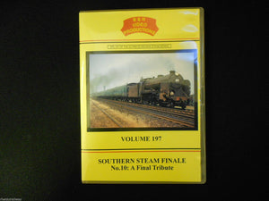 Waterloo, Wight, Southern Steam Finale No.10 A Final Tribute B&R Vol 197 DVD - The Vale of Rheidol Railway
