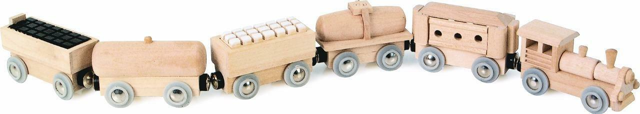 magnetic train small foot legler wooden train fits Brio