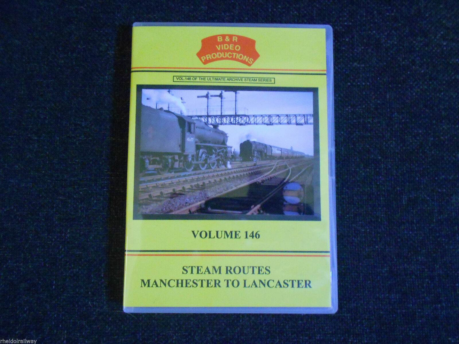Warrington, Wigan, Barton, Steam Routes, Manchester To Lancaster B&R Vol 146 DVD