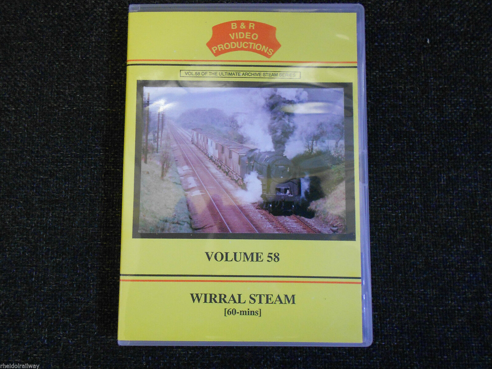 Chester, Birkenhead, Ellesmere Port, Bidston, Wirral Steam B&R Vol 58 DVD - The Vale of Rheidol Railway