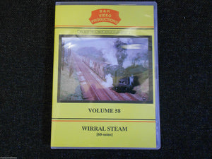 Chester, Birkenhead, Ellesmere Port, Bidston, Wirral Steam B&R Vol 58 DVD